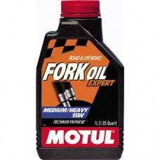 Масло вилочное MOTUL Fork Oil Expert Medium / Heavy 15W