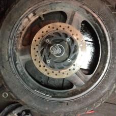 cb400sf задние колесо